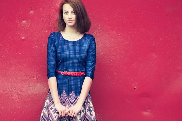 Mode-Quiz: Frau in Kleid in A-Linien-Form