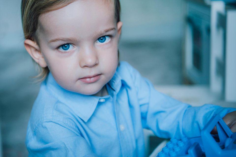 Prinz Nicolas ist jetzt zwei Jahre alt