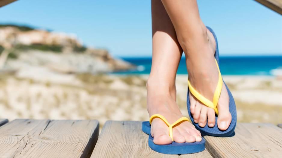 Was Flip Flops für Nachteile mit sich bringen