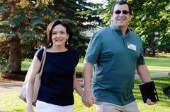 Sheryl Sandberg und ihr verstorbener Mann Dave Goldberg