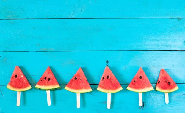 Wassermelone eis