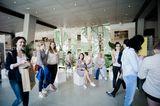"""Dank der Foto-Tapeten von """"Juniqe"""" wurde unser Foyer zur tropischen Area"""