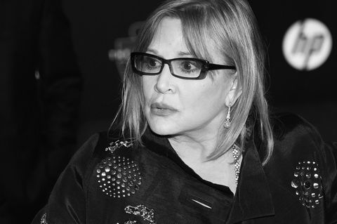 Carrie Fisher starb am 27. Dezember 2016
