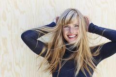 Gewohnheiten mit 30: Blonde Frau