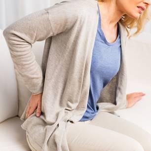 Sitzen, Rückenschmerzen