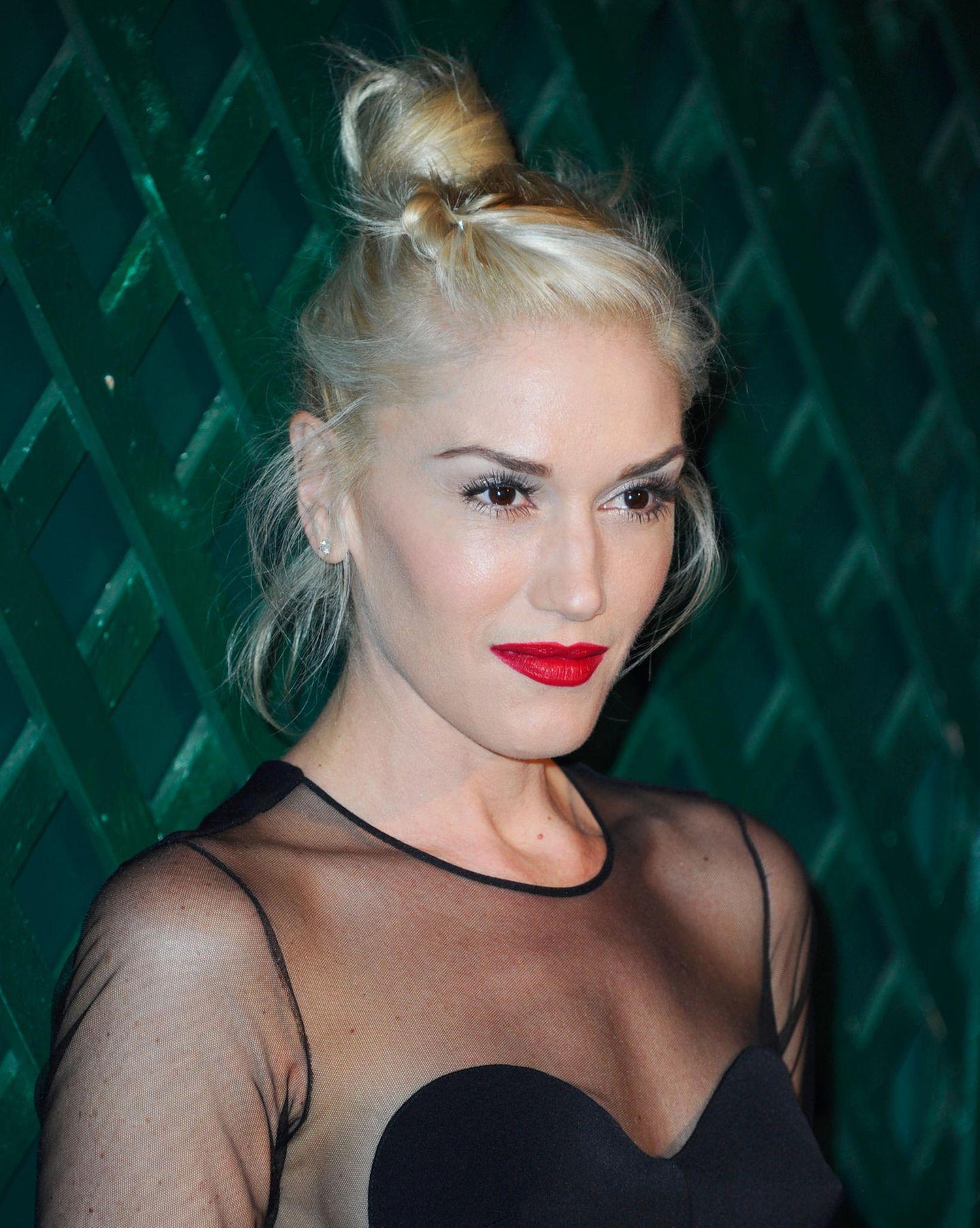 Gwen Stefanie mit Dutt