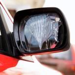 Rückspiegel, Unfall