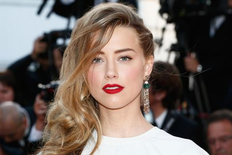 Amber Heard mit Beach Waves
