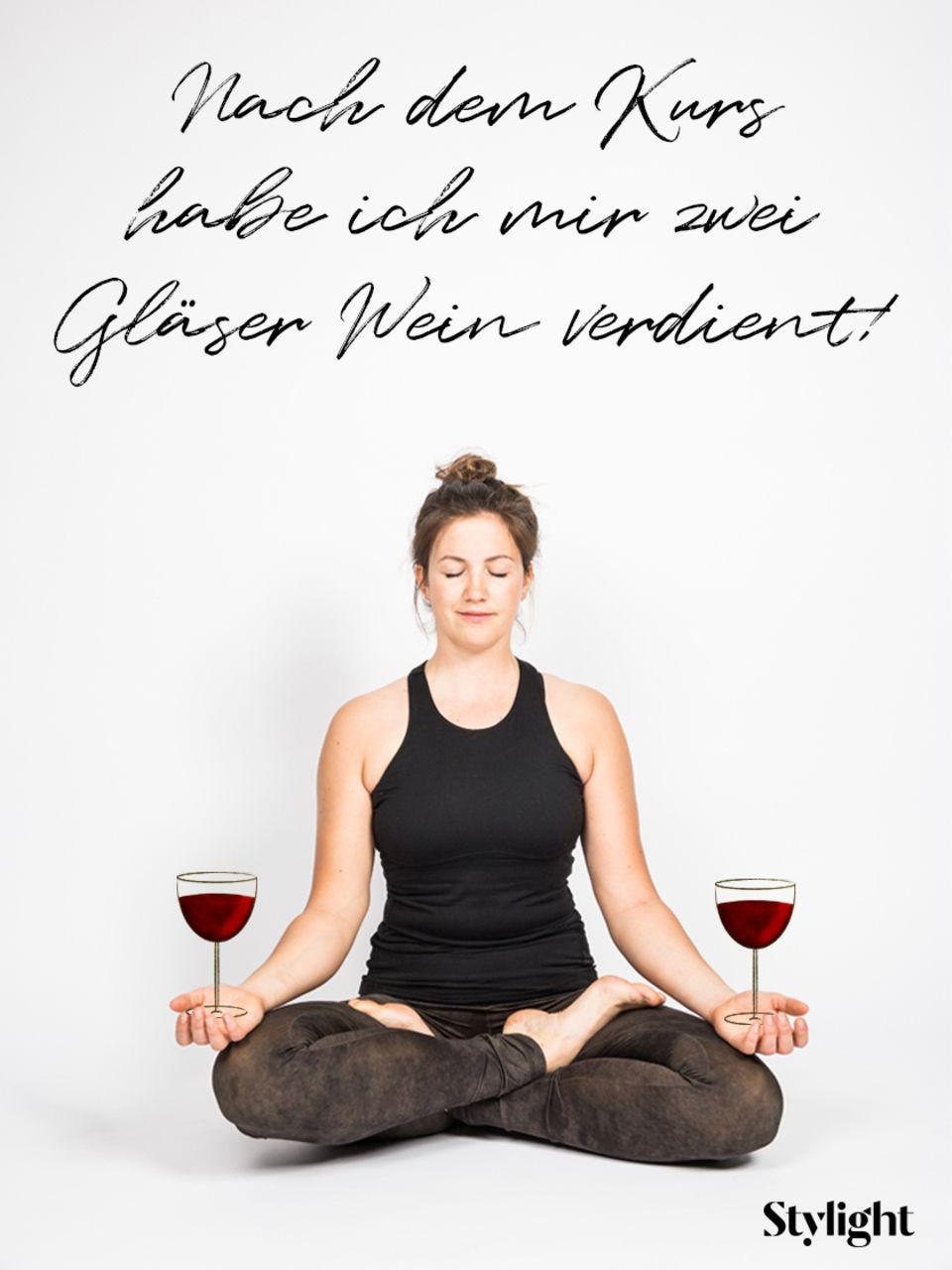 Yoga: Lotus-Pose