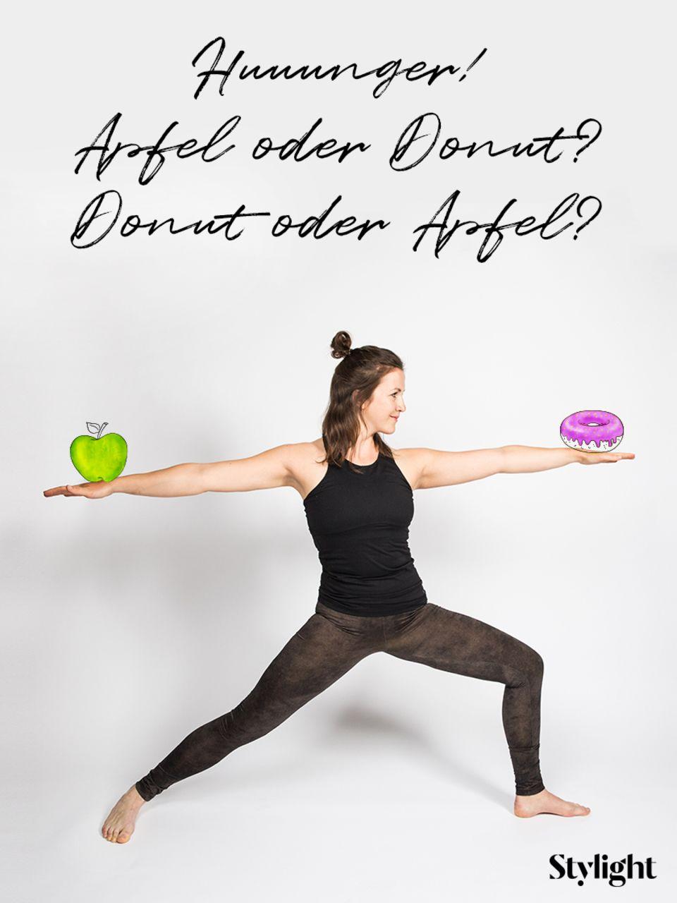Yoga: Krieger II