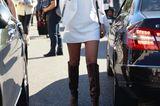 Weiße Kleider: cooler Streetstyle aus Paris
