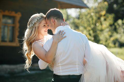 Dauer bis zur Hochzeit: Brautpaar