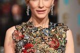 Statement-Ohrringe: Glitzerohrringe bei Kate Blanchett