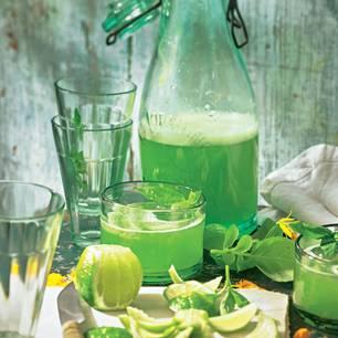 Basilikum-Limonade