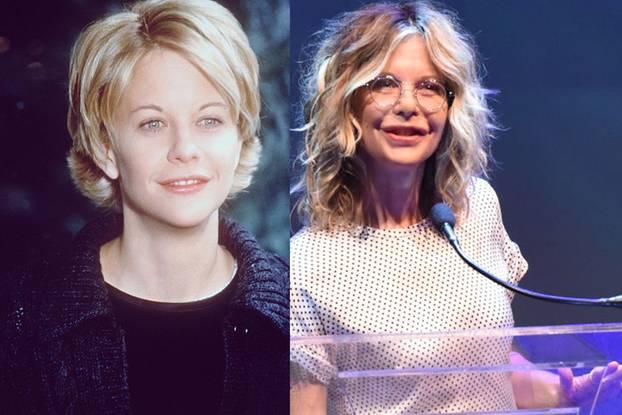 Meg Ryan früher und heute: ein sehr großer Unterschied!