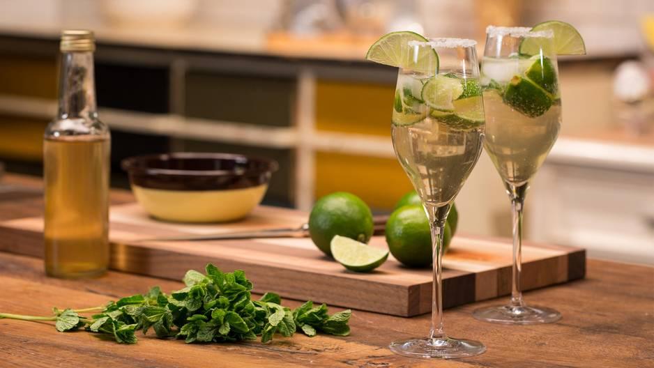 Rezept für den prickelnden Cocktail