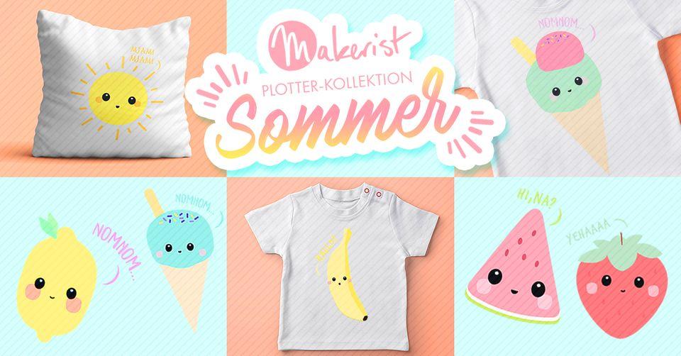 Sommer-DIY von Makerist: Coole Plotter-Motive