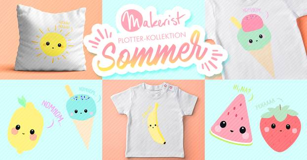 Sommer-DIY von Makerist: Coole Plotter-Motive