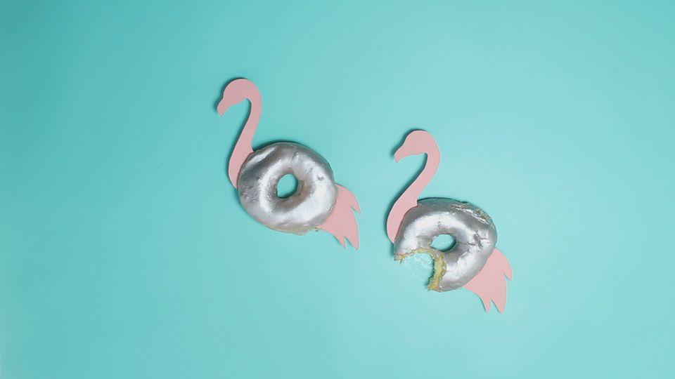 Sommer-DIY mit Geschmack: Flamingo-Donuts