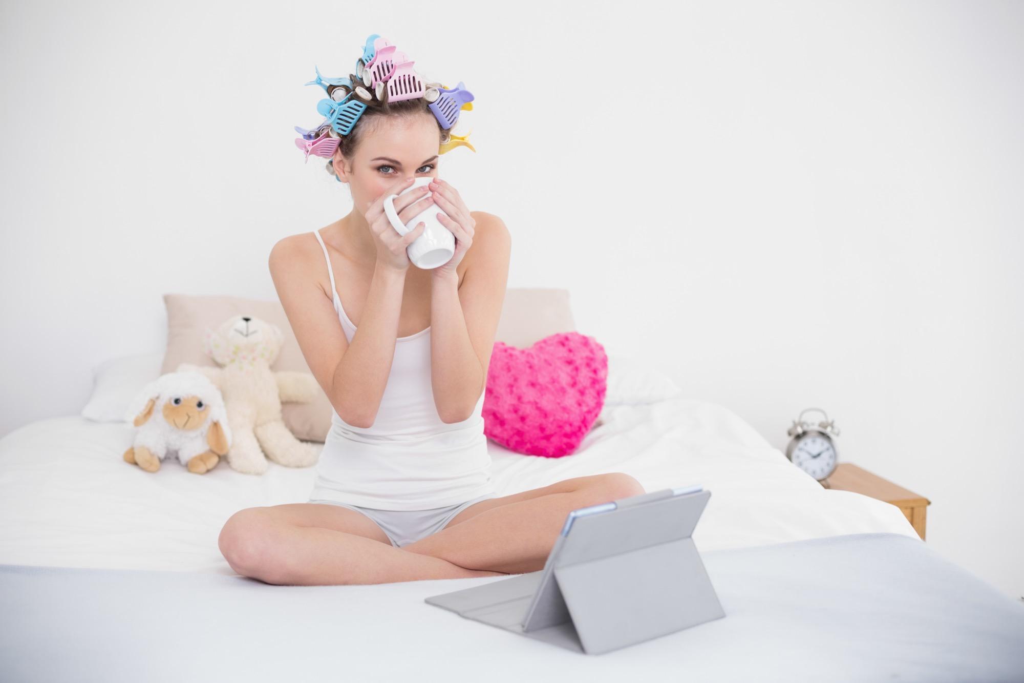 beauty f r faule fernsehen und dabei sch ner werden. Black Bedroom Furniture Sets. Home Design Ideas
