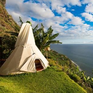 Madeira: Tipi am Meer