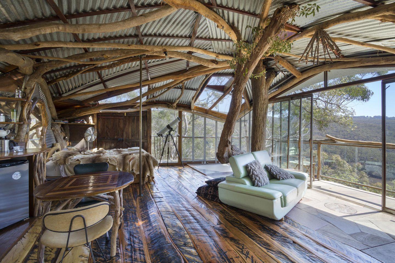Australien: Baumhaus in den Blue Mountains