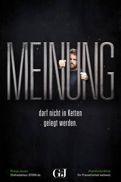 """STERN.de-Chefredakteur Philipp Jessen sagt: """"Meinung darf nicht in Ketten gelegt werden""""."""