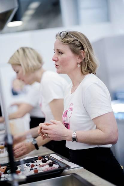 In der BRIGITTE-Küche konnten die Leserinnen unter anderem Frauke Prien kennenlernen, die mit ihren Kolleginnen für die BRIGITTE-Rezepte verantwortlich ist. Kostproben gab es natürlich auch!