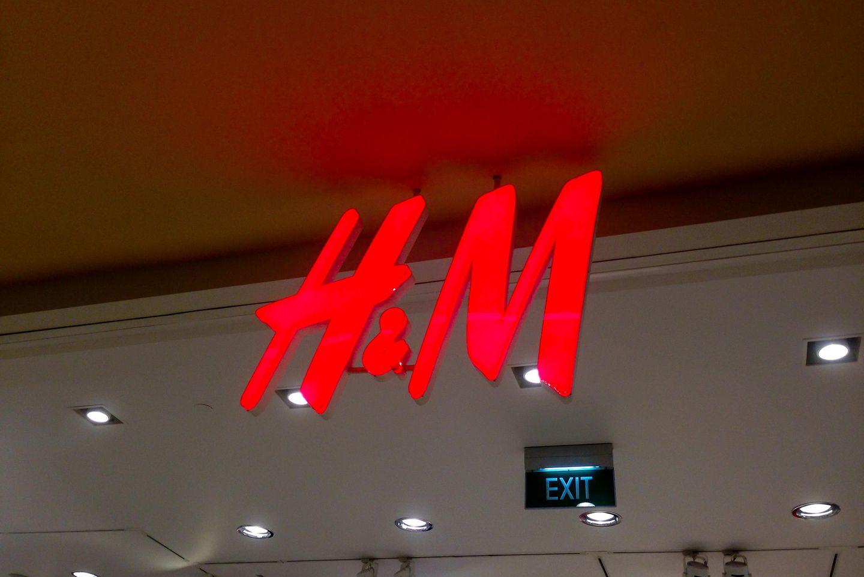 H&M Store von Außen