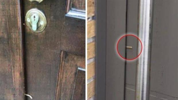 Einbruchsgefahr: Polizei warnt vor Zahnstocher in der Tür