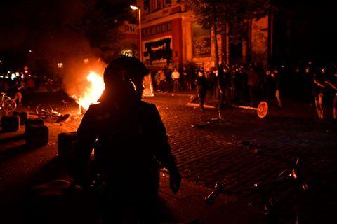 Krawalle zum G20-Gipfel - schockierende Bilder aus Hamburg