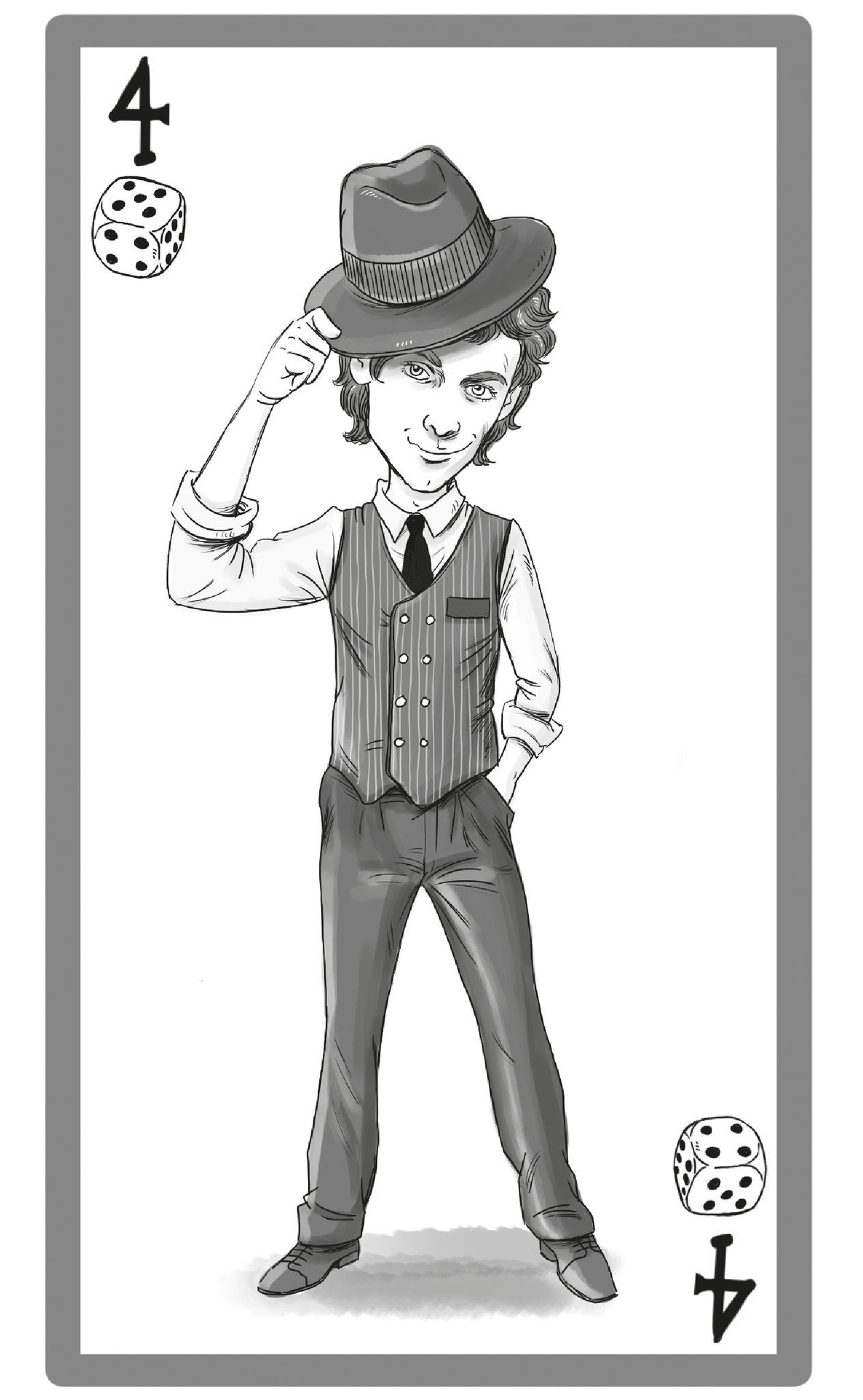 Männertypen: Illustration Blender