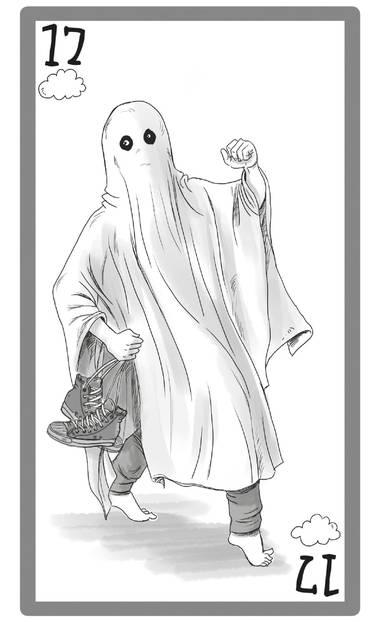Männertypen: Illustration Ghosting Typ