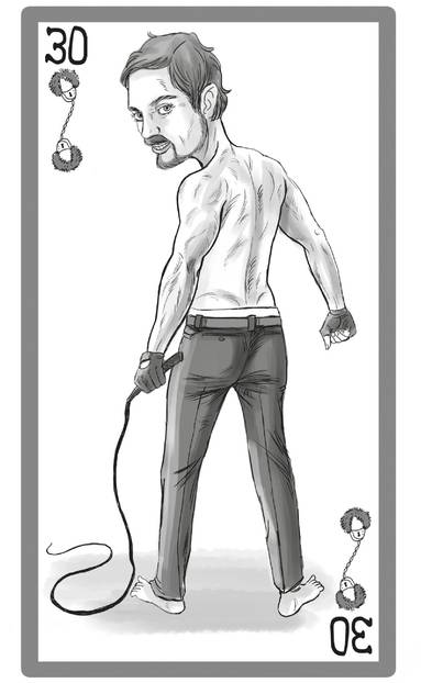 Männertypen:: Illu Mr. Grey Typ