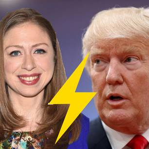 Chelsea Clinton vs. Donald Trump