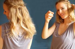 Caro zeigt eine unkomplizierte Sommerfrisur für lange Haare