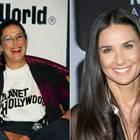 Demi Moore mit Zähnen Vorher/Nachher