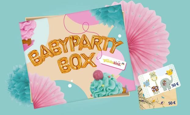 Nur für kurze Zeit: Babyparty-Box für Schwangere bei dm