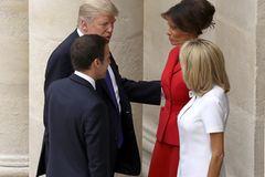 Peinlich! Trump-Kommentar über Brigitte Macron sorgt für Aufruhr
