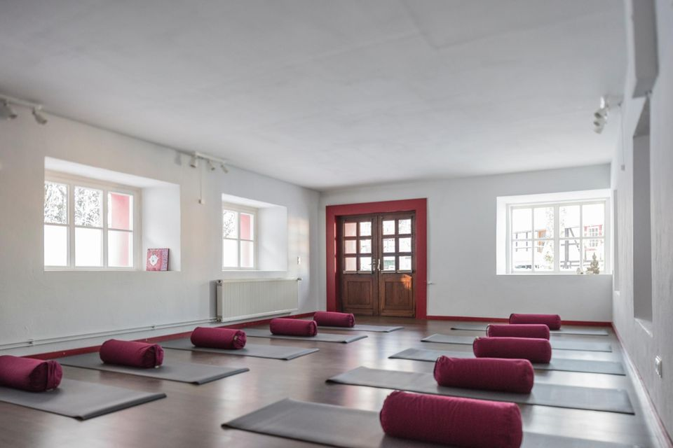 Die Fellerei - der Yogaraum