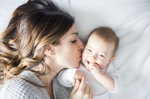 kurze Babypause