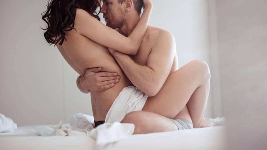 Karezza: Paar hat Sex