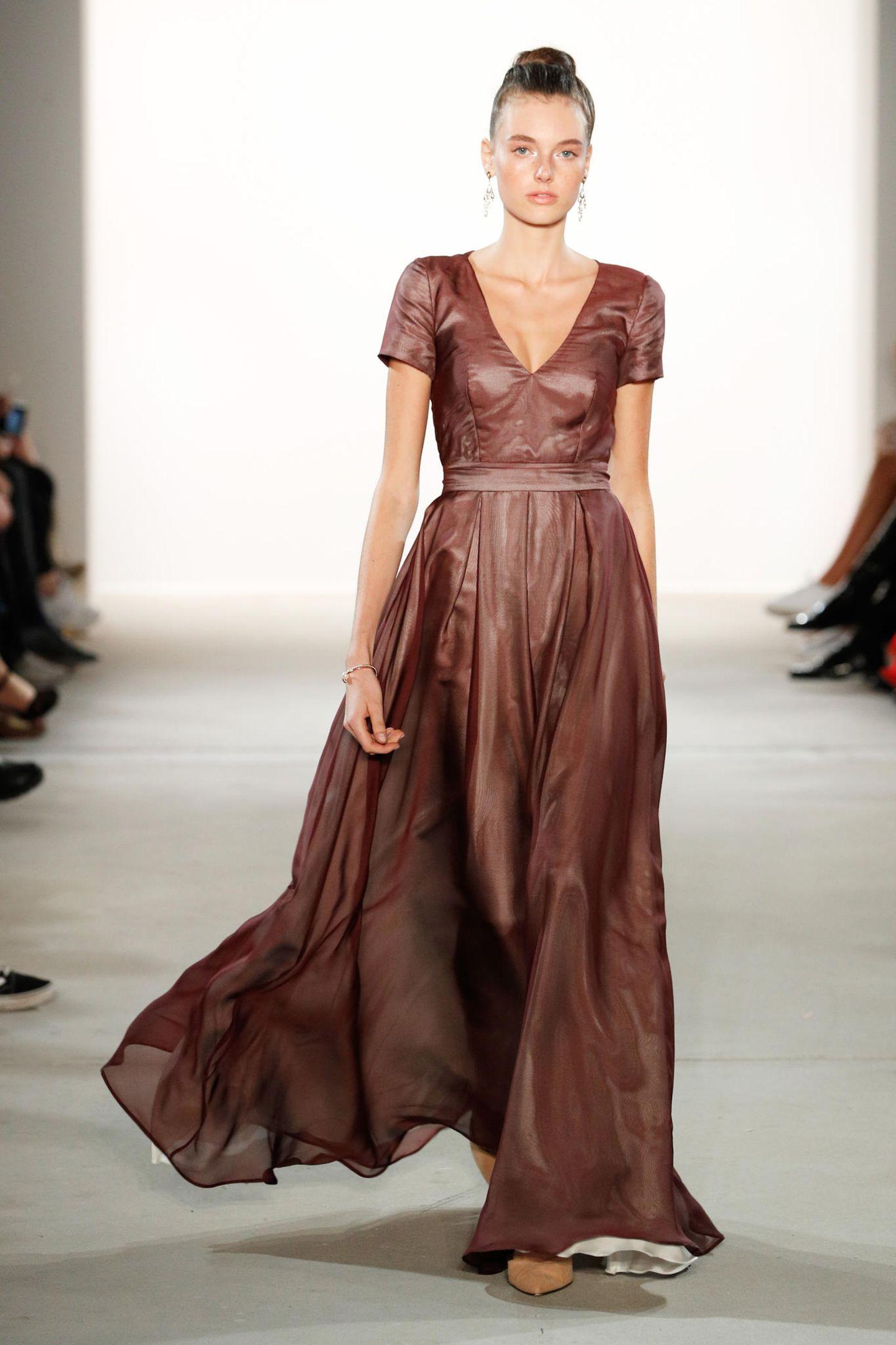 Trendfarbe Braun macht Mode