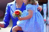 Charlotte auf dem Arm von Herzogin Kate