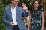 William und Kate begrüßen das Volk