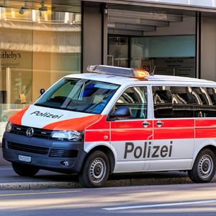 Schweiz, Polizei