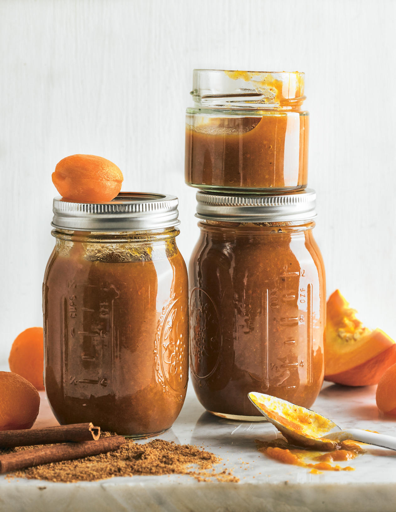 Aprikosenröster mit Kürbis und Zimt