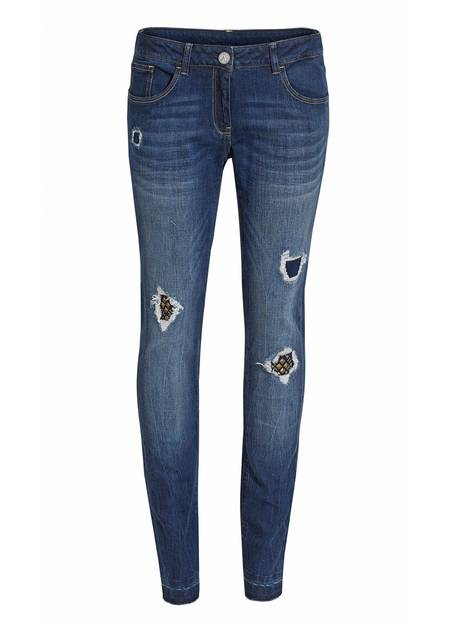 Destroyed Jeans von Anastacia für Aldi Süd