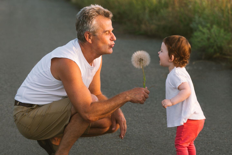 ältere Männer Vater