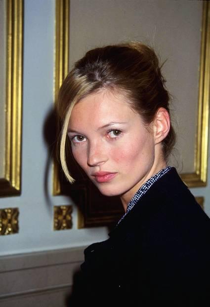 Kate Moss ganz pur und ohne Make-up